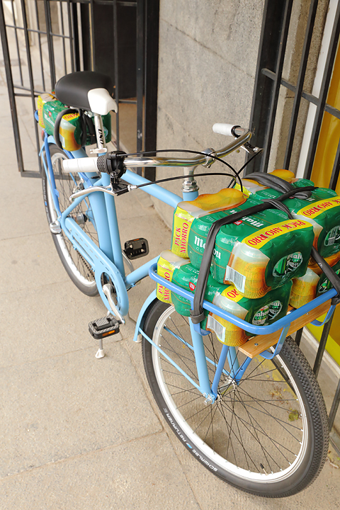 cervezas vivabicicletas cargo bike bici