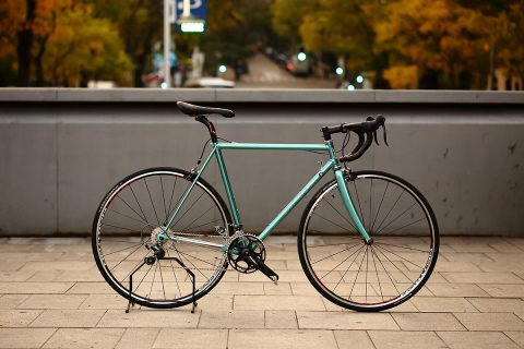 Eddy Merckx Corsa restauracion Viva Bicicletas Madrid